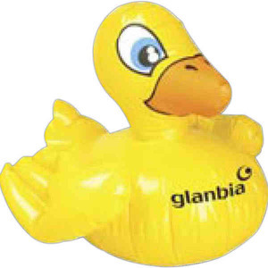 Custom Imprinted Inflatable Duck Animal Toys!
