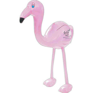 Custom Imprinted Inflatable Flamingo Animal Toys