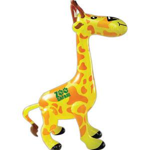 Custom Imprinted Inflatable Giraffe Animal Toys!