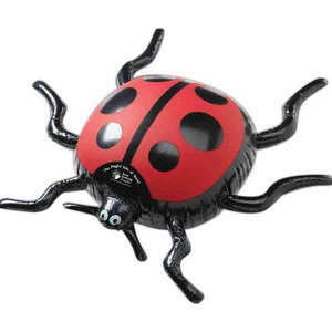 Bug Themed Promotional Items - Inflatable Lady Bug Animal Toys