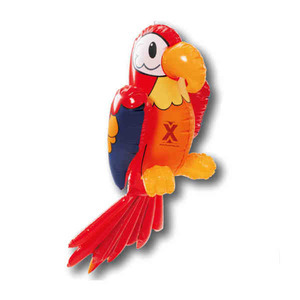 Bird Themed Promotional Items - Inflatable Parrot Animal Toys