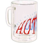 Custom Imprinted Insulated Latte Lab Glass Mugs