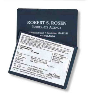 Custom Imprinted Insurance Card Cases!