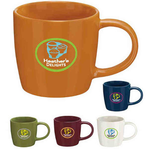 Custom Imprinted Ironstone Ceramic Mugs!