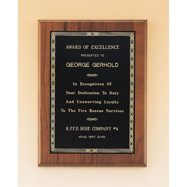 Custom Engraved Airflyte Wooden Plaque Awards!