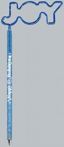 Word and Phrase Bent Shaped Pens -