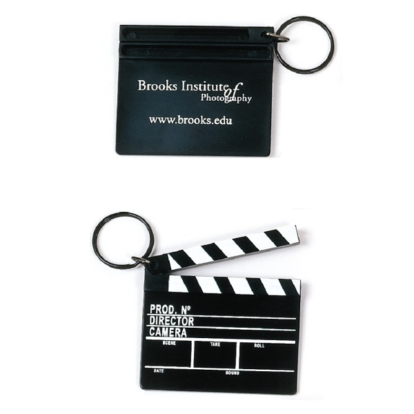 Custom Made Clapboard Keychains!