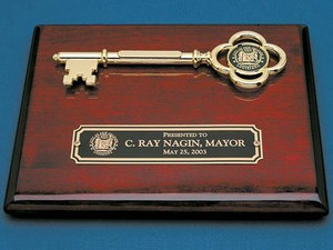 Customized Key To The City Awards!
