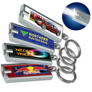 Custom Printed Keychain Flashlights!