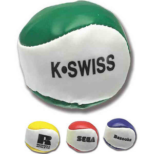 Custom Imprinted Kick Sack Hackysack Balls