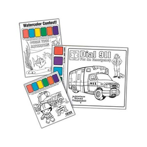 Kid Themed Promotional Items - Kids Watercolor Sets