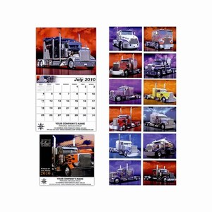 Custom Decorated King of the Road Wall Calendars