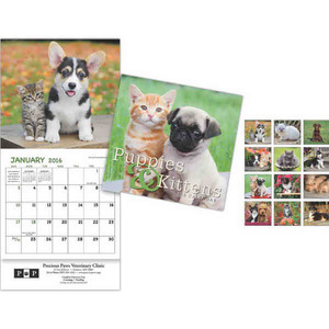 Custom Designed Kittens Wall Calendars!