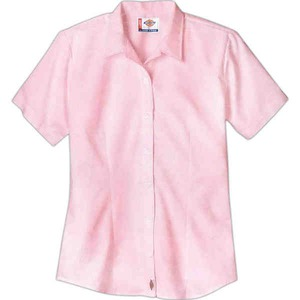 Customized Ladies Dickies Woven Dress Shirts!