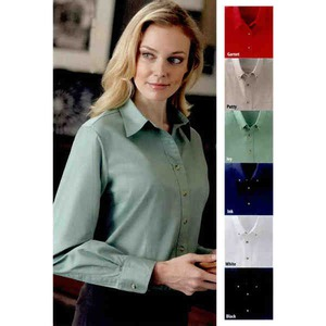 Embroidered Ladies Harvard Square Woven Dress Shirts!