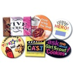 Personalized Laminated Face Badges and Buttons