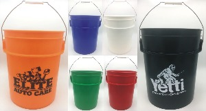 Custom Imprinted Large 5 Gallon Buckets