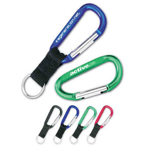 Custom Imprinted Large Aluminum Carabiners