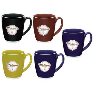Custom Imprinted Large Bistro Mugs