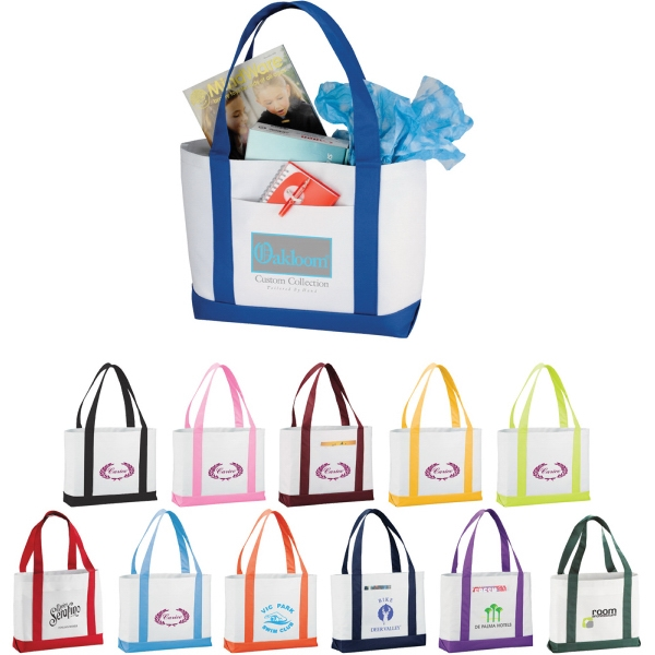1 Day Service Tote Bags - 1 Day Service Large Tote Bags