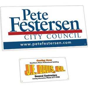 Corrugated Plastic Political Election Campaign Signs -