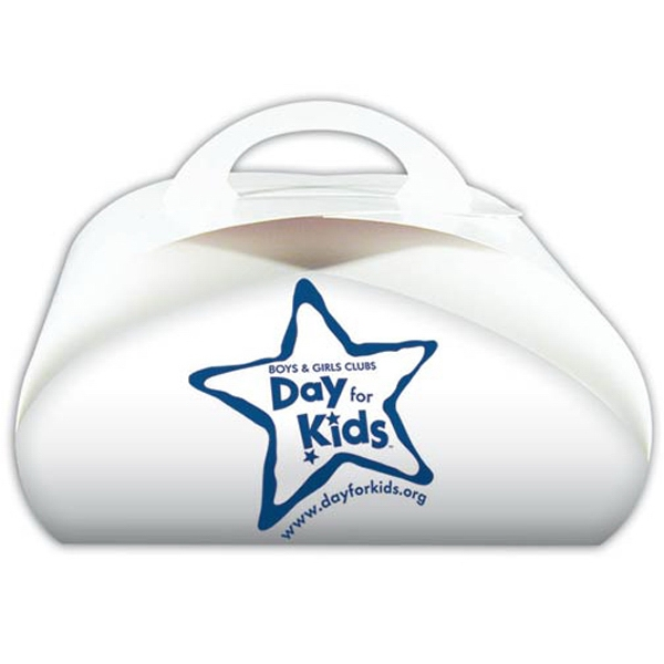 Custom Imprinted Dome Shaped Donut Boxes