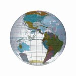 Globe and Earth Promotional Items - Globe Beach Balls