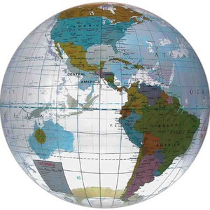 Globe and Earth Promotional Items - Large Globe Beach Balls