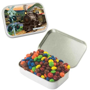 Custom Imprinted Large Rectangular Private Label Mint Tins!