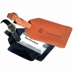 Leather Promotional Items - Leather Luggage Tags