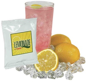 Custom Imprinted Lemonade Drink Packets
