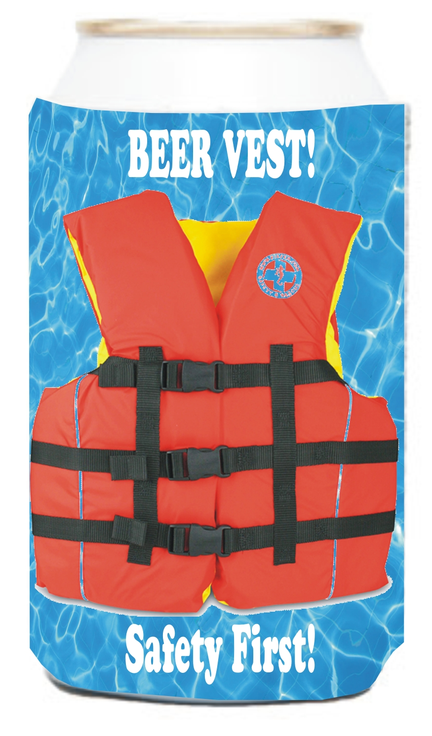Custom Imprinted custom-imprinted-life-jacket-vest-can-coolers