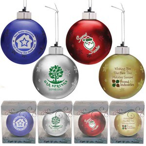 Christmas Ornaments - Light Up Christmas Ornaments