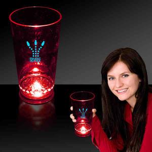 Custom Printed Light Up Pint Glasses