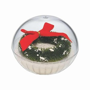 Custom Imprinted Lighted Holiday Crystal Globes