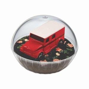 Personalized Lighted Mobile Armored Truck Crystal Globes
