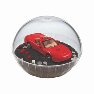 Lighted Mobile Crystal Globes -