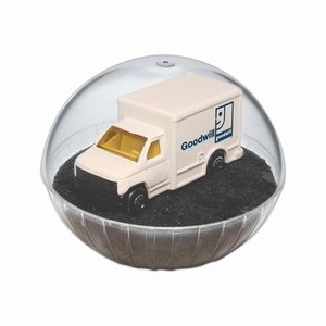 Custom Imprinted Lighted Mobile Delivery Truck Crystal Globes