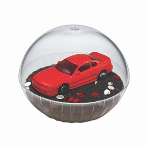 Custom Made Lighted Mobile Mustang Crystal Globes
