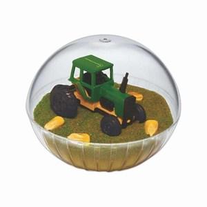 Custom Designed Lighted Mobile Tractor Crystal Globes!