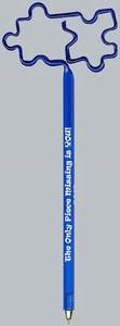Puzzle Bent Shaped Pens -