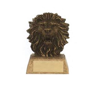 Custom Imprinted Lion Mascot Awards