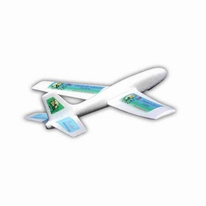 Custom Airplanes - Logo Jet Foam Airplanes