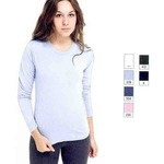 Custom Imprinted American Apparel Long Sleeve Shirts For Women