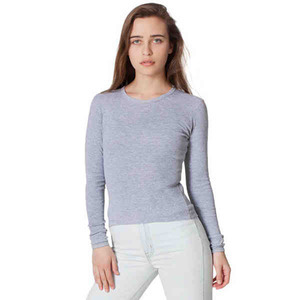 Custom Imprinted American Apparel Long Sleeve T-Shirts For Women