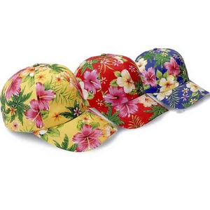 Luau Themed Promotional Items - Luau Baseball Caps