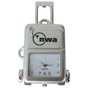 Shaped Silver Metal Clocks -