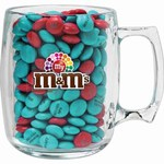 Custom Imprinted M&M Chocolate Candy Acrylic Mugs