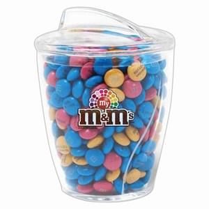 Custom Imprinted M&M Chocolate Candy Jars!
