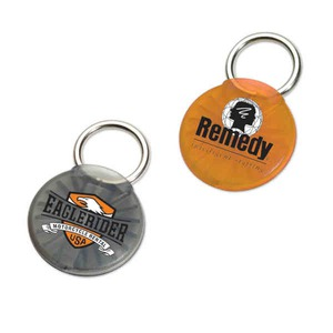 Customized Made in the USA Round Twist Ease Keyholders